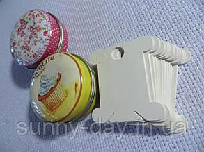 Шпули (бобинки) для намотки-хранения мулине пластиковые