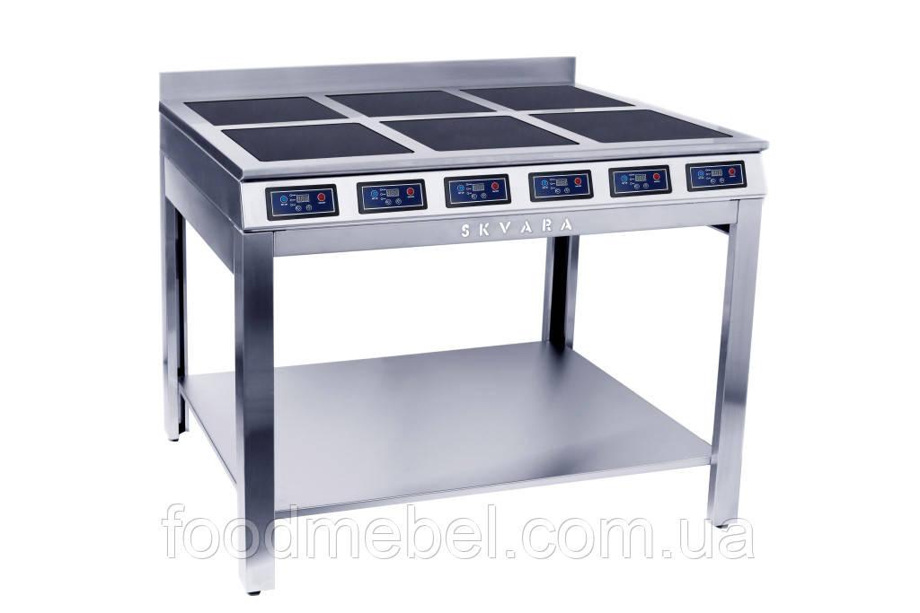 Индукционная плита Skvara Sif 6.12 напольная промышленная