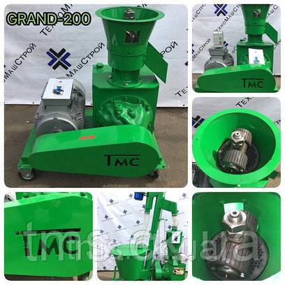 Гранулятор пеллет и кормов GRAND-200(Green)