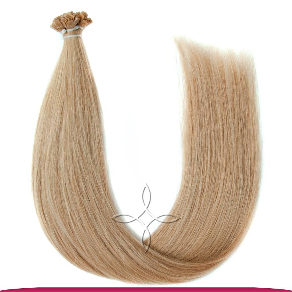 Натуральные Европейские Волосы на Капсулах 50 см 100 грамм, Светло-Русый №18