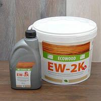 Двухкомпонентный клей для паркета Ecowood EW-2K 10кг