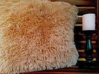Стильные меховые наволочки с длинным ворсом 50 на 70 , фото 1