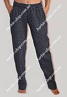 Красивые летние штаны для девушек Батал 12258