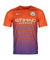 Игровая футболка Манчестер Сити (Manchester City) резервная 2016-2017 (реплика VIP качества)