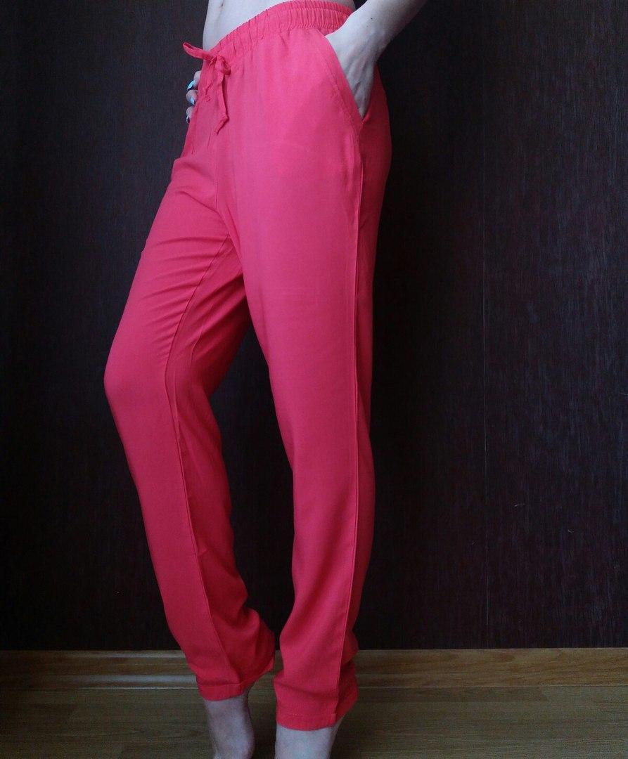 f23c58ef8ad1471 Женские летние штаны, штапель красный, цена 100 грн., купить в ...