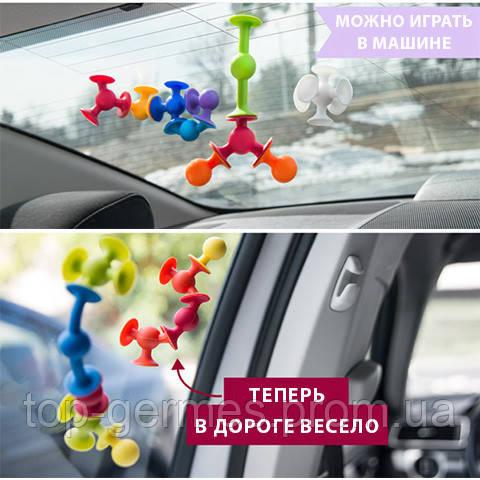 Конструктор присоска 48шт-Новинка (ВИДЕО)