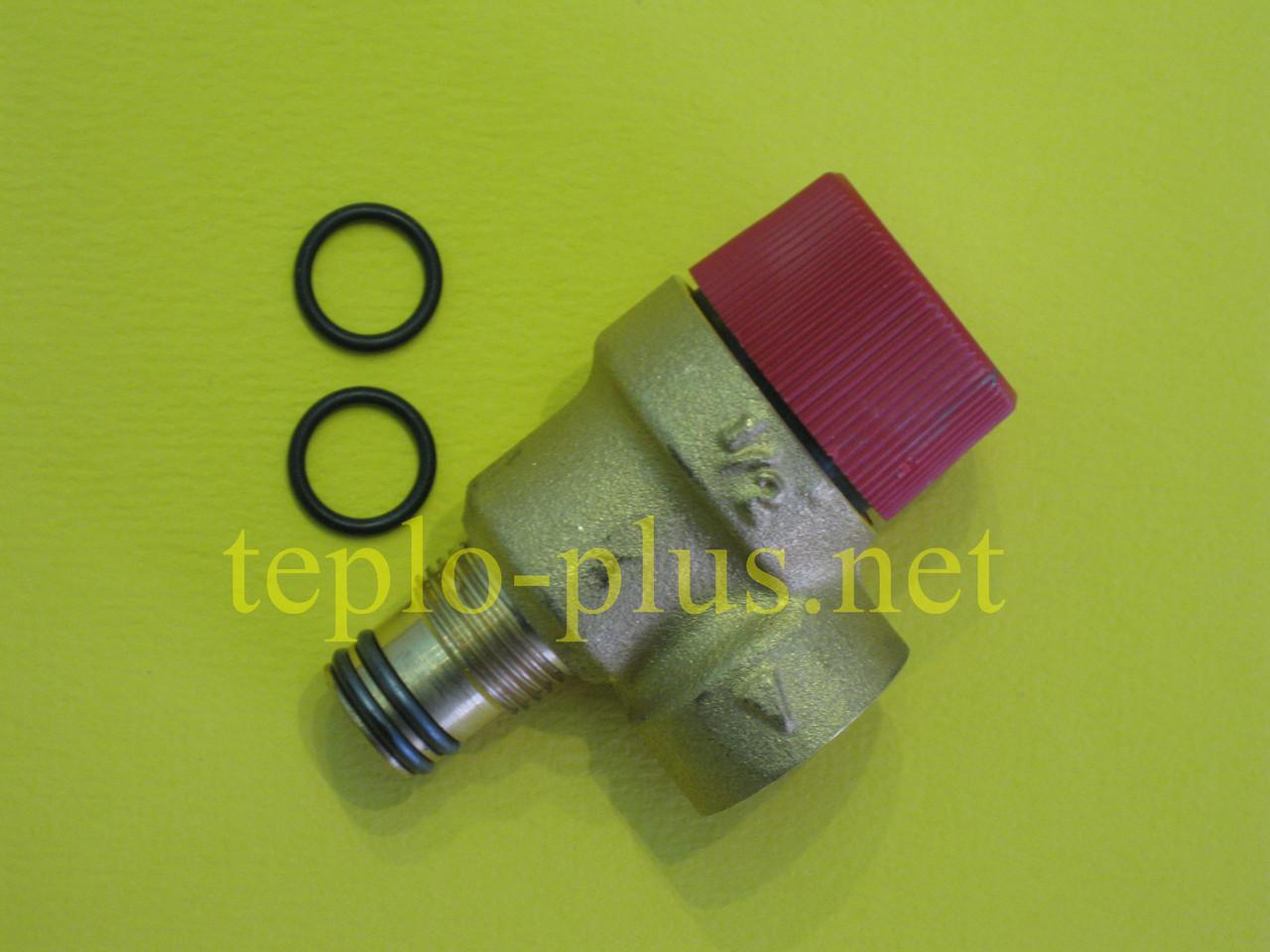 Предохранительный клапан 3 бар (клапан безопасности) 39809740 Ferroli Domina, Domitop