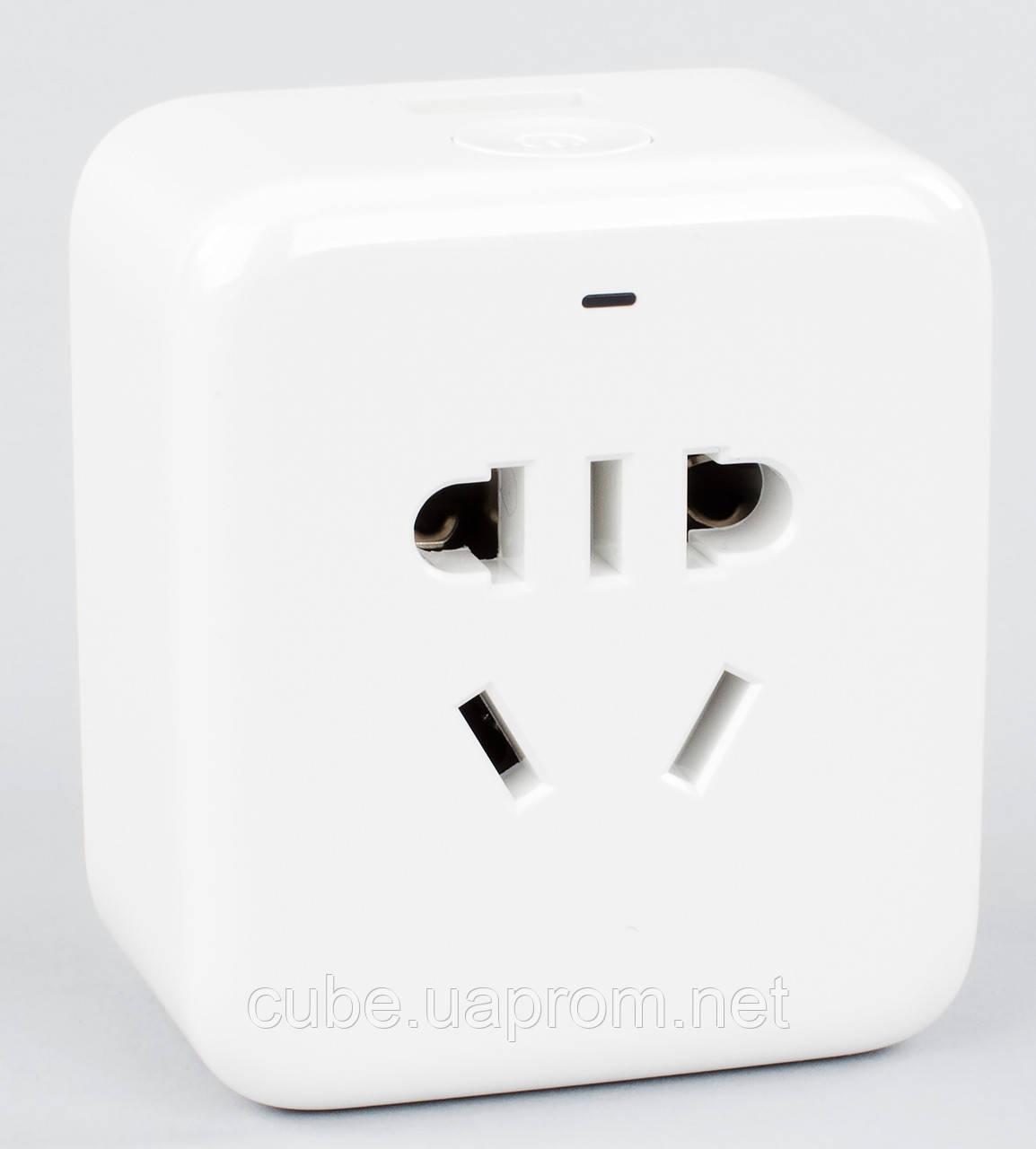 Розумна розетка Xiaomi Mi Smart Plug Power zigbee version розетка. xiaomi smart socket (ZNCZ02LM)