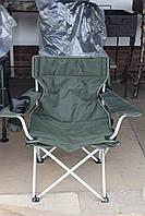 """Кресло складное для отдыха на природе  """"Вояж"""" ,стальной  каркас 100кг"""