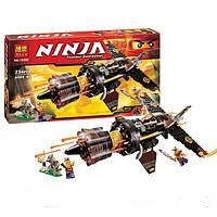 Конструктор Bela Ninjago (аналог LEGO 70747) Скорострельный истребитель Коула арт.10322