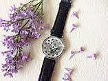 Наручний годинник з оригінальним дизайном. Чорні, фото 3