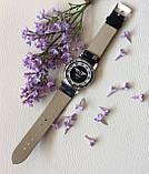 Наручний годинник з оригінальним дизайном. Чорні, фото 6