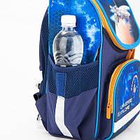 Каркасный школьный Кайт  рюкзак для мальчика ,космический корабль