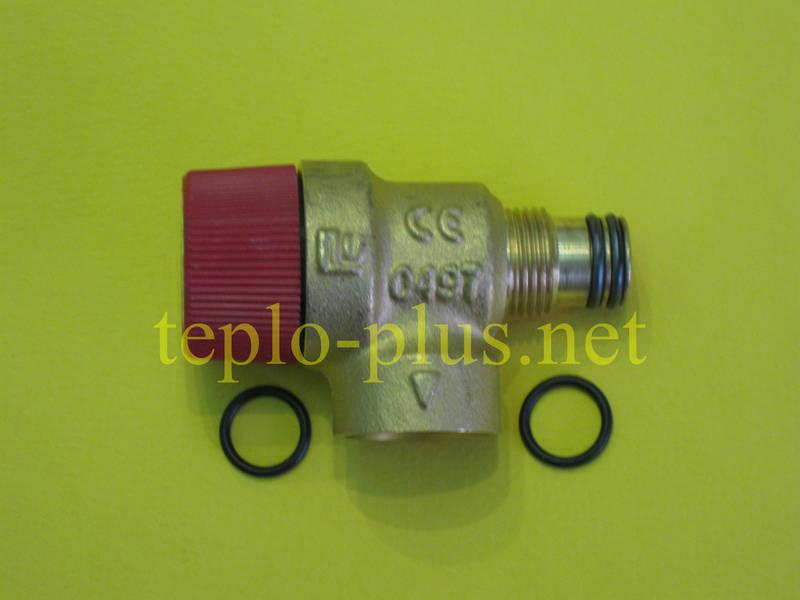 Предохранительный клапан 3 бар (клапан безопасности) 39809740 Ferroli Domina, Domitop, фото 3