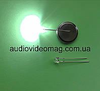 """Светодиод белый 3V 4,8 мм для фонаря, """"кристалл"""", суперяркий"""