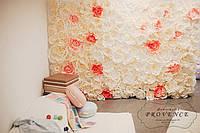 Фотозона стіна квіткова