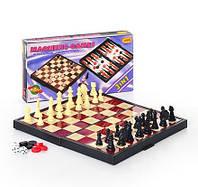 Игровой набор Шахматы 9831 3в1 шашки, нарды