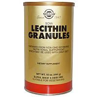 Solgar, Лецитин в гранулах, 16 унций (454 г), Lecithin Granules,