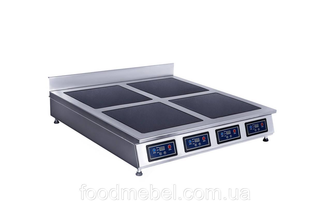 Индукционная плита Skvara Sit 4.8 четырехконфорочная настольная (4х2кВт)