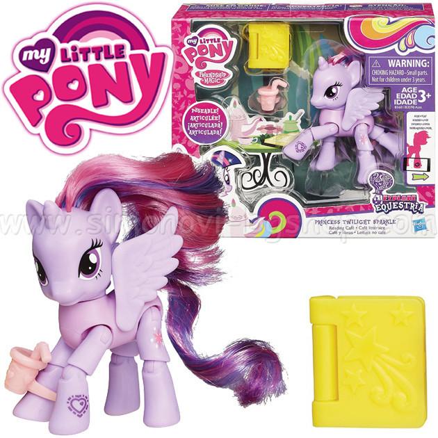 Пони фигурка Твайлайт Спаркл с подвижными ножками Май Литл Пони My Little Pony Hasbro