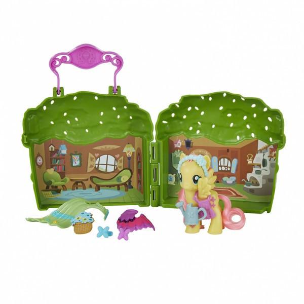 Пони игровой набор котедж Флатершай магия дружбы Май литл пони My Little Pony Friendship is Magic Fluttershy