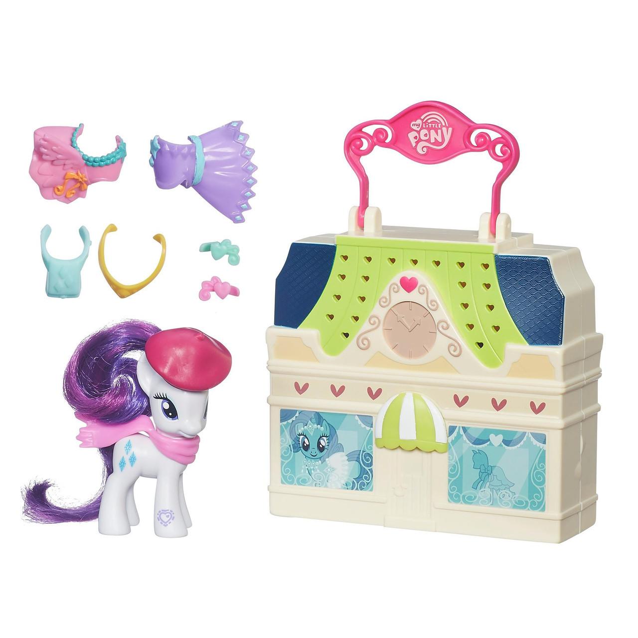 Пони игровой набор Магазин Рарити Май Литл Пони My Little Pony Friendship is Magic Rarity Dress Shop Playset