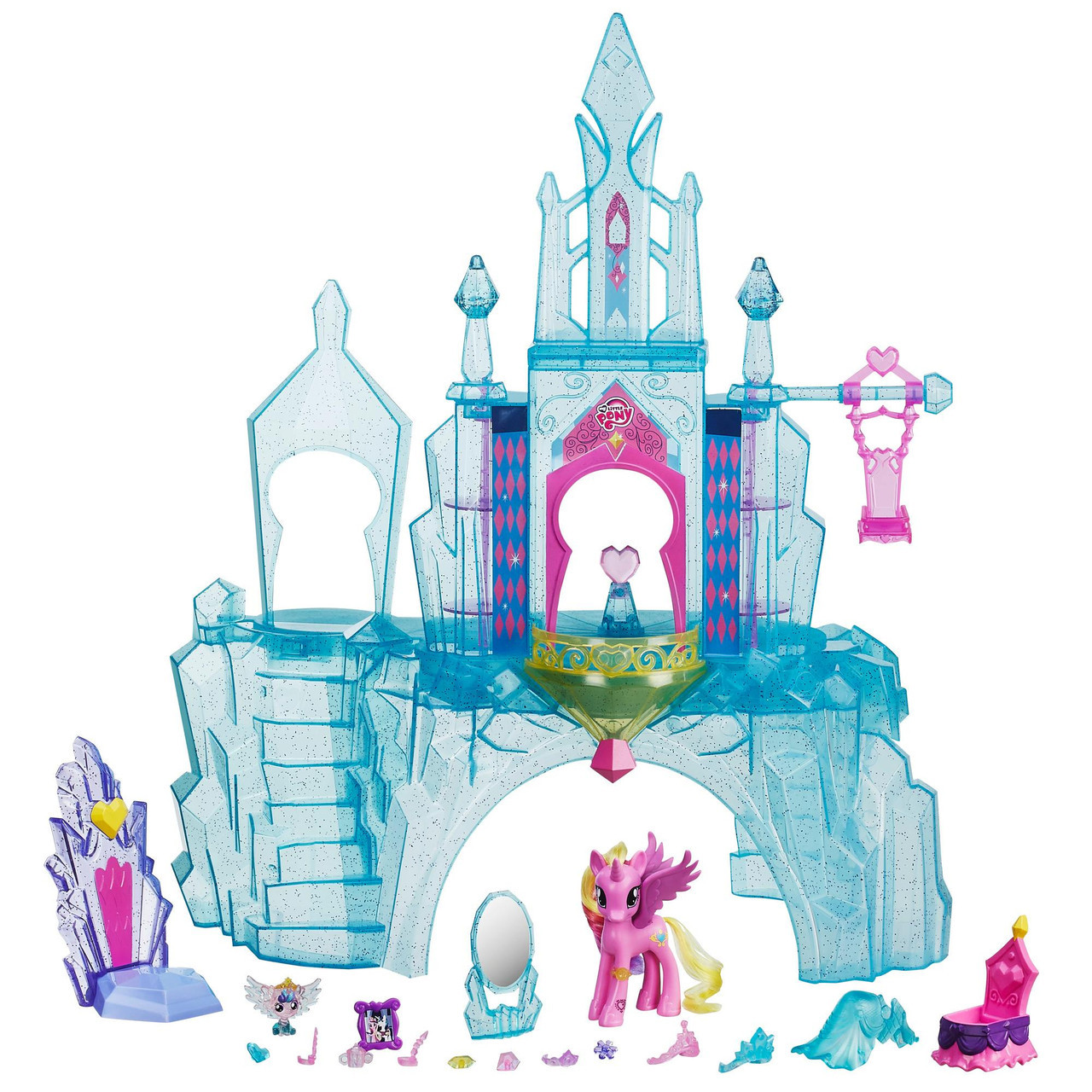 Кристальный замок принцессы Каденс Пони Май Литл Пони My little Pony Hasbro B5255