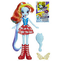 Кукла Май Литл Пони Рэйнбоу Дэш  Rainbow Dash Equestria Girls My Little Pony Hasbro А3994