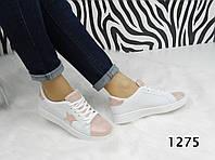 Женские кроссовки Silver Star , эко кожа, белые / кроссовки - слипоны женские Сильвер Стар, модные