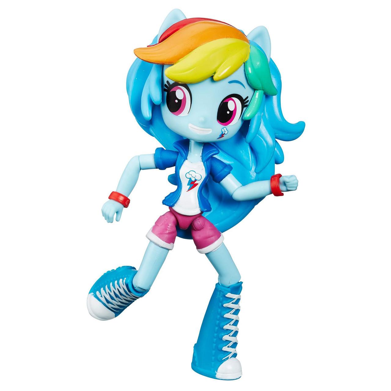 Кукла мини Май Литл Пони Рейнбоу Дэш Equestria Girls Minis Rainbow Dash My Little Pony Hasbro B6363