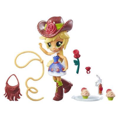 Игровой набор Май Литл Пони Школа танцев и мини кукла ЭпплДжек My Little Pony Hasbro B8026