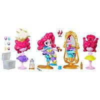 Игровой набор мини Пинки Пай салон красоты My Little Pony Equestria Girls Pinkie Pie Switch a Do Salon Set, фото 1