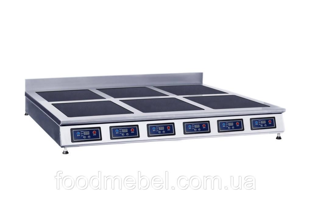 Индукционная плита Skvara Sit 6.12 шестиконфорочная настольная (6х2кВт)
