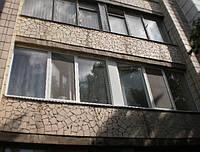Трёхстворчатое окно Openteck