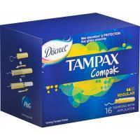Тампоны Tampax Compak Regular с апликатором 16 шт (4015400219507)