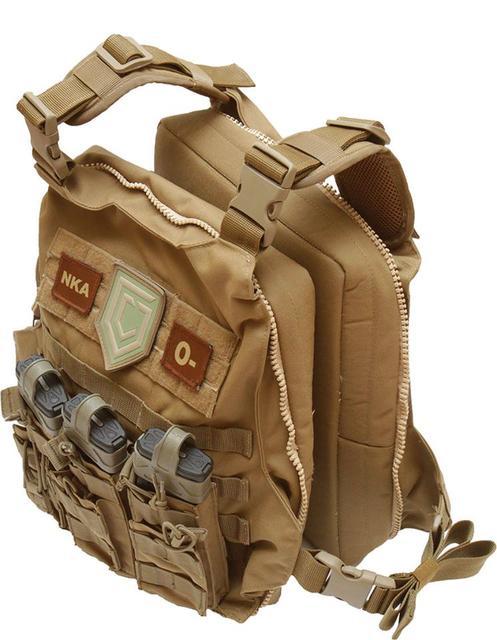 Презентація плейт керріер-сумка розробленої спеціально для Civilian Gunfighters
