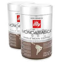 Кофе в зернах ILLY BRAZIL MONOARABICA з/б,250г