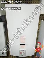 Водогрейная газовая дымоходная колонка Нева 5514 с авторозжигом електронным управлением NEVA LUX-5514