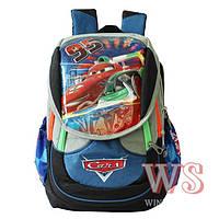 Ранец школьный рюкзак детский ортопедический для мальчиков Тачки -Молния Маквин фабричный