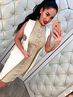 Красивое платье с люрексом в расцветках