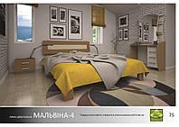 """Деревянная кровать """"Мальвина-4"""""""