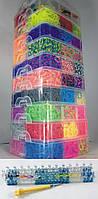 Десяти этажный набор резинок 27000 для плетения браслетов с профессиональным станком