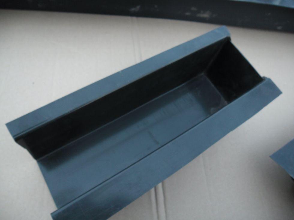 Удлиняющая насадка для формы на столб 90 см, сечение 10*10*8,4 см