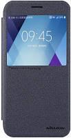Чехол Nillkin Буклет Nillkin Sparkle series для Samsung Galaxy A720 (черный)