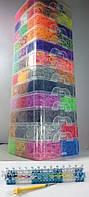 Двенадцати этажный набор резинок 33000 для плетения браслетов с профессиональным станком