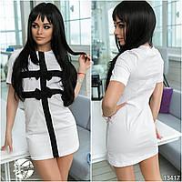 Платье с бантами