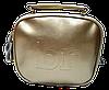 Женская сумочка из натуральной кожи золотистого цвета через плечо BXE-000355