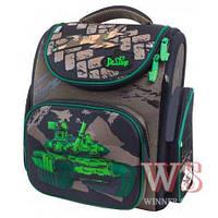 Ранец школьный рюкзак детский для мальчиков фабричный Бренд DE LUNE с танком World of Tanks