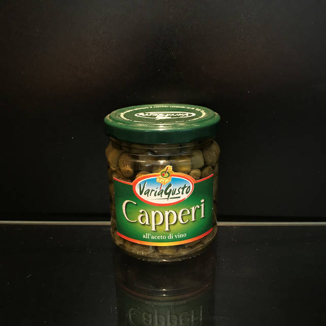 Каперсы в винном уксусе Varia Gusto Capperi 210/120 (италия)