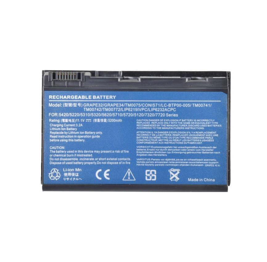Батарея для ноутбука Acer TravelMate 7720 G
